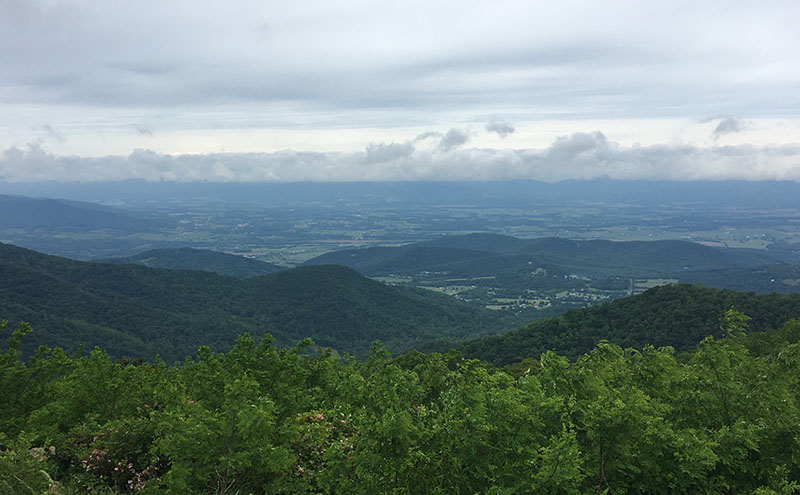 View from Skyline Drive, Virginia