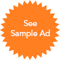 Sample Ad badge